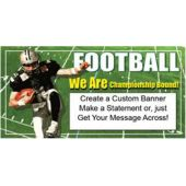 FOOTBALL CHAMPS CUSTOM BANNER (Variety of Sizes)