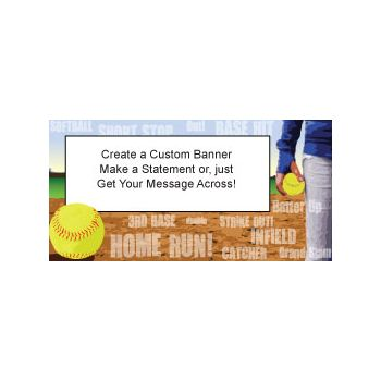 HOME RUN DERBY CUSTOM BANNER (Variety of Sizes0