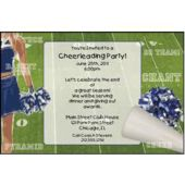 Cheerleader Party Personalized Invitations