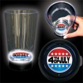 LED Patriotic 4th of July Cup-16oz