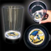 Congrats Grad Logo LED Bottom Lit Cup - 16 Ounce