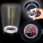 New Years Colors Logo LED Bottom Lit Cup - 16 Ounce