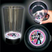 Disco Dancer Logo LED Bottom Lit Cup - 16 Ounce