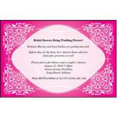 Pink Kaleidoscope Personalized Invitations