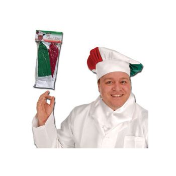 RED, WHITE, GREEN CHEF'S HAT