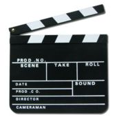 Hollywood Clapboard Favor