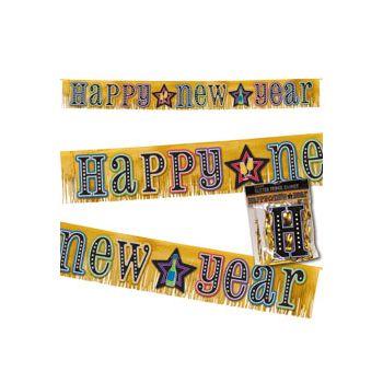 HAPPY NEW YEAR FRINGE BANNER