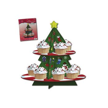 CHRISTMAS CUPCAKE TRAY