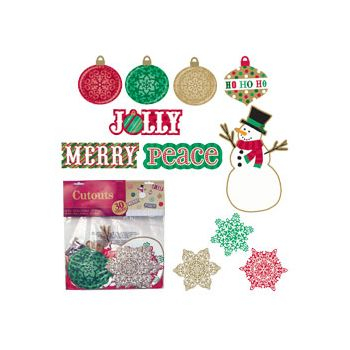 HOLIDAY VALUE PACK CUTOUTS