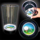 LED Golf Ball Cup-16oz