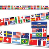 International Flag Party Roll