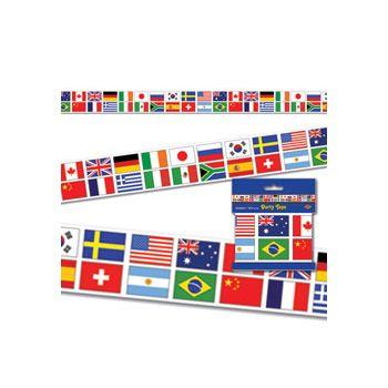 INTERNATIONAL FLAG PARTY ROLL