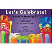 Party Gifts Personalized Invitations