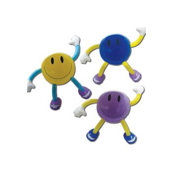 Smile Man Inflatables - 34 Inch, 12 Pack