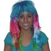 Neon Disco Wig
