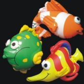 Tropical Fish Inflatables