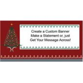 Tinsel Tree Custom Banner