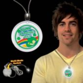 St. Patrick's Day LED Pendant Necklace