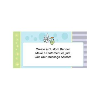 Stork Special Delivery Custom Banner