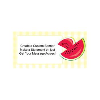 Watermelon Custom Banners (Variety of Sizes)