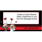 Wedding Day Custom Banner