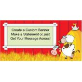 Barnyard Fun Custom Banner
