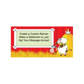 Barnyard Fun Custom Banner