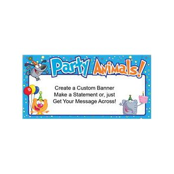 Party Animals Custom Banner