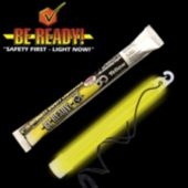 30 Minute Yellow Glow Stick - 6 Inch, Retail Pack