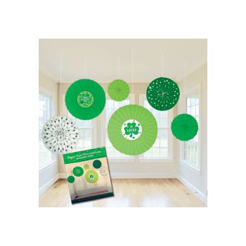 ST. PATRICK'S DAY DECORATIVE FANS