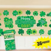 St. Patrick's Day Cutouts-36 Pack