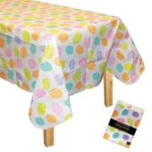 Easter Egg Vinyl Table Cover