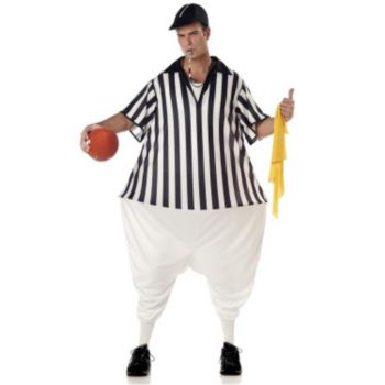 Adult Rotund Referee Costume