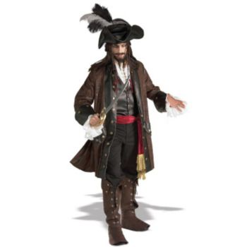Captain Darkheart  Adult Costume  Grand Heritage Collection
