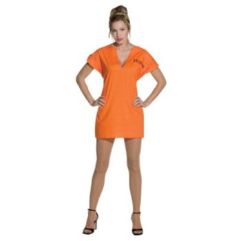 Jailhouse Dress Adult Costume