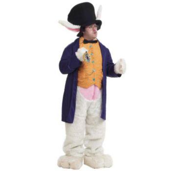 Deluxe White Rabbit Adult