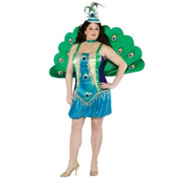 Peacock Plus Adult Costume