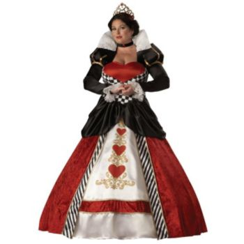 Queen of Hearts Elite Collection Plus Adult Costume