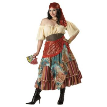 Fortune Teller Plus Elite Collection Adult Costume