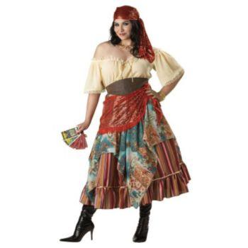 Fortune Teller Plus Elite Collection Adult Costume