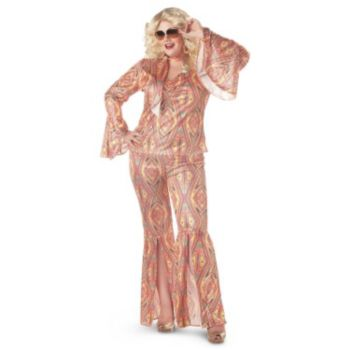 Disco-licious Dancer Adult Plus Costume