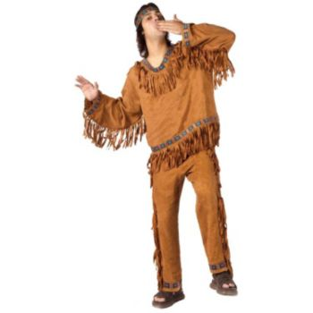 Native American Adult Plus Costume