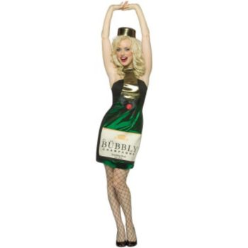 It's Bubbly Champagne Dress Adult Costume