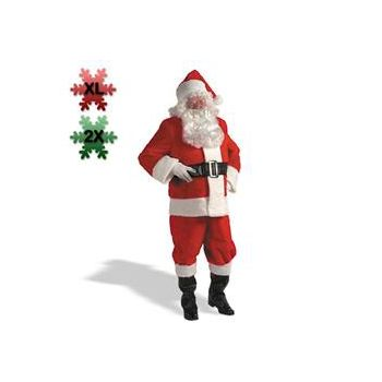Kris Kringle Suit Plus Costume