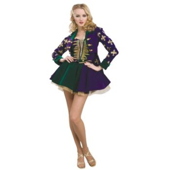 Designer Collection Sexy Mardi Gras Maiden Adult Costume