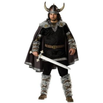Viking Warrior Adult Plus Costume