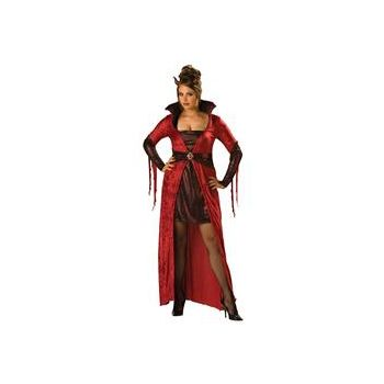 Seductive Devil Adult (Plus) Costume