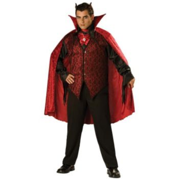 Sinister Devil Adult Plus Costume
