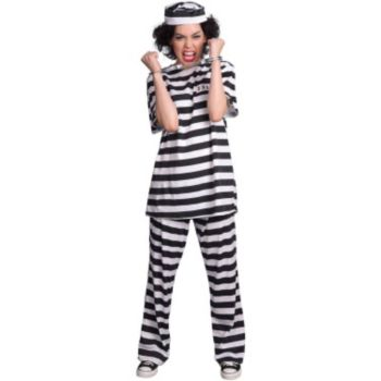Female Prisoner Adult Costume