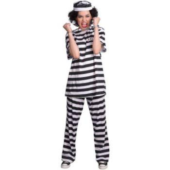 Female Prisoner Adult Costume